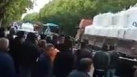 现场曝光!江苏一中巴与货车相撞 已致5死10伤