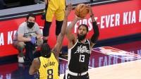 NBA:快船126-115步行者 乔治36+7+8