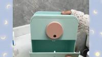 免打孔高颜值的挂壁纸巾盒