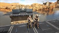 方舟生存进化:VS系列和毛哥打狙燃烧姐只能当标靶