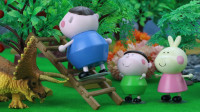 小趣向腕龙、小兔甜甜、小三角龙学习摘苹果,最后他和爸爸是怎么摘到苹果的呢?