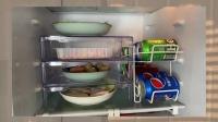 冰箱分层置物架,冰箱整整齐齐