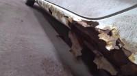 维修丰田卡罗拉续集,左侧锈的更严重,网友:这车还修个毛线