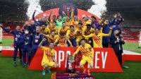 国王杯-梅西双响德容一射两传 巴萨4-0横扫毕尔巴鄂夺冠