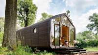 荷兰用纸建造的房子,2-3天就能轻松盖好一套,住个百年没问题!
