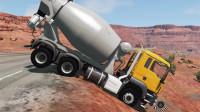 工程车视频1128大卡车运输挖土机+挖机工作+工程车工程车