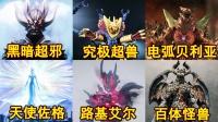 【单推奥特曼】奥特曼中体型最大的怪兽,第一直接超神!