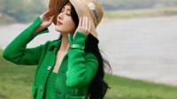 赵丽颖出道十五周年快乐 ,绿衣仙踪太美了