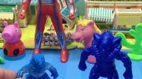 童年趣事:两只小怪兽打起来了