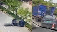 广东一特斯拉追尾货车,驾驶人当场死亡,特斯拉回应