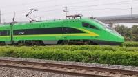 沪昆线,D5409次(上海南-杭州)接近松江站,FXD1-J0054!