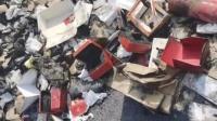 上海一快递员烧了自己车上880余万元快递,只为隐藏这个秘密