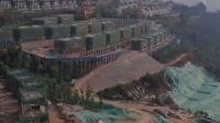 昆明拆除滇池环湖别墅群:几十台挖机拆楼!1700多人连夜种树