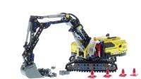 乐高积木:科技机械组系列42121重型挖掘机