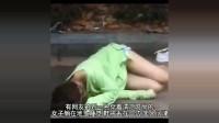美女喝醉睡在马路边,网友见了喊心痛!