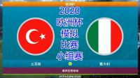 2020年欧洲杯,模拟比赛,土耳其vs意大利