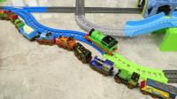 托马斯玩具 4套超级轨道组合玩法