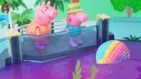 小猪佩奇有趣的玩偶泡澡球