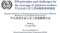 EII principles and challenges for the coverage of platform workers