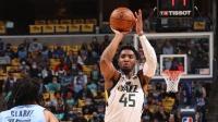 NBA:爵士121-111灰熊 米切爾29+5