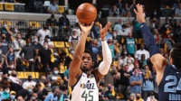 NBA:爵士120-113灰熊 米切爾30+8