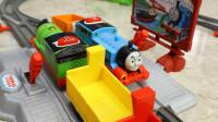 托马斯玩具 托马斯多套拼搭创意玩法