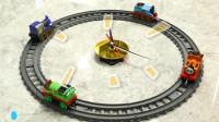托马斯玩具 托马斯5套轨道拼搭创意玩法