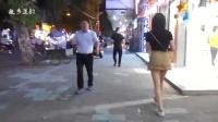 街拍夜幕江城小街(印象派)