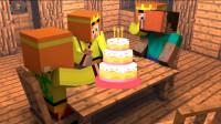 【小龙】我的世界MC朋友的生日 Minecraft解密游戏视频