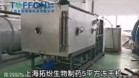 上海拓纷5平方生物制药冷冻干燥机
