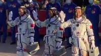 """太空""""出差""""三个月,""""神十二""""航天员在太空吃啥?#航天 #为祖国点赞 #空间站 #科技"""