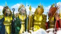 西游记后传中,四海龙王为何能克制黑袍?