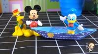 米奇带你玩折纸系列之小船