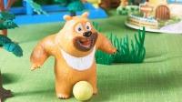萝卜头被熊二问的足球问题难住啦