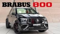 2022 巴博斯 Brabus 800 宣传片 - 基于 奔驰 AMG GLE63 S 打造