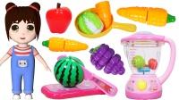 乐乐拆箱:小猪佩奇的水果切切乐玩具
