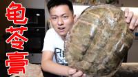 花一百小时把十五斤大龟壳做成龟苓膏!一口下去直接翻白眼!