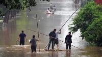 河南新鄉暴雨致128萬餘人受災