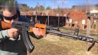 加利尔突击步枪靶场射击测试,性能可靠没得说,精度比AK47高
