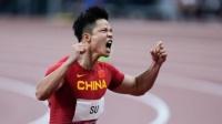 男子4×100米接力:中国队小组第1直接晋级决赛