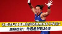获奥运奖牌能有多少奖金?新加坡与美国差距达20倍,多国统计曝光