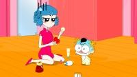 奶瓶小星:奇葩的天才,搞笑动画短片小视频