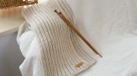 编织365毛线店简单入门花样2正2反围巾的编织方法