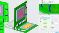 Creo8.0新功能视频教程:布线设计中排线折45度的方法增强