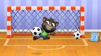 汤姆猫总动员:安吉拉流鼻涕 汤姆猫当守门员