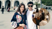网友偶遇袁咏仪买名牌包,张智霖在旁等候,随时准备掏15万买单