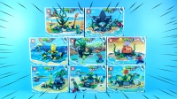 植物大战僵尸巨浪沙滩8合1新款玩具,向日葵能打败僵尸,相信吗