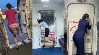 飞机舱门那么笨重,为什么一定要空姐手动关闭呢?看完你就懂了!