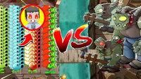 【木鱼】迷你世界:植物大战僵shi之海盗来袭,鱼玲能否保护戴夫,不被僵shi吃脑子?