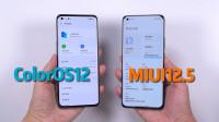ColorOS12抢先对比MIUI12.5,要说流畅度,OPPO这次进步有多大?